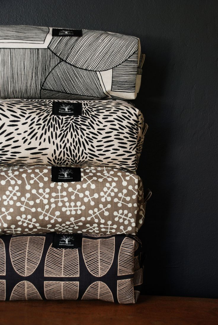 Cosmetic bags - African contemporary range - Pepppertree