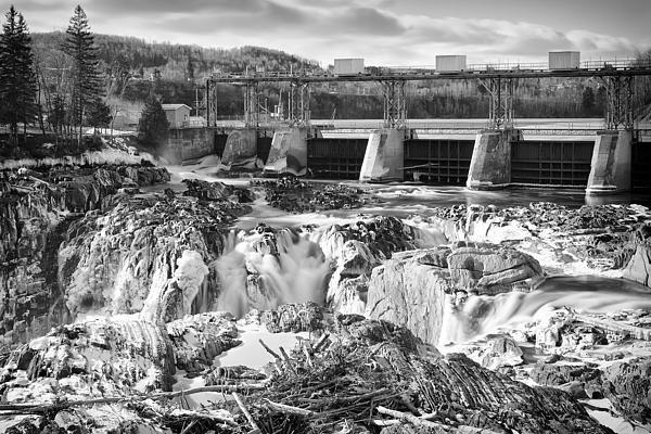 Water Falls, Grand Falls, New Brunswick, Canada