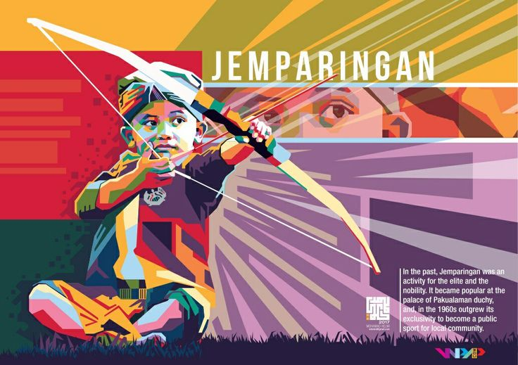 JEMPARINGAN In the past, Jemparingan was an activity for the elite and the nobility. It became popular at the palace of Pakualaman duchy, and, in the 1960s, outgrew its exclusivity to become a public sport for the local community.