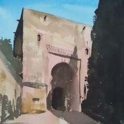 Puerta de la Justicia de Pablo Romero