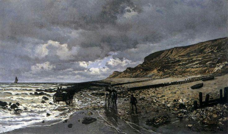 La Pointe de la Hève at Low Tide 1865 Oil on canvas, 90 x 150 cm Kimbell Art Museum, Fort Worth