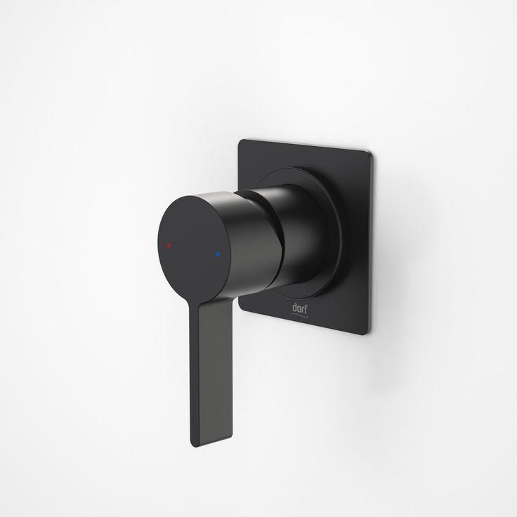 Dorf Enigma Bath/Shower Mixer - Black - Bath/Shower Mixers - Bath Tapware - Tapware  - Bathware Direct   $155