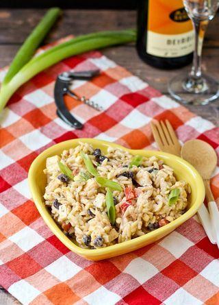 ... Southwestern Orzo Salad (Rachel Cooks) | Orzo Salad, Orzo and Salads