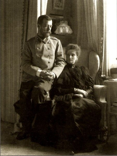 Nicholas and Alexandra early in their marriage.