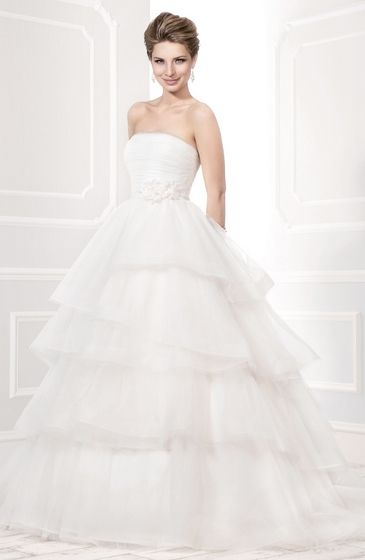 Style:11402 strapless ball gown