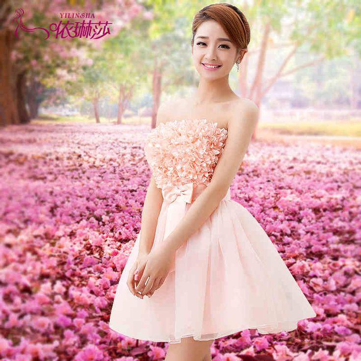 Mejores 11 imágenes de Vestidos ♡ en Pinterest | Damitas de honor ...