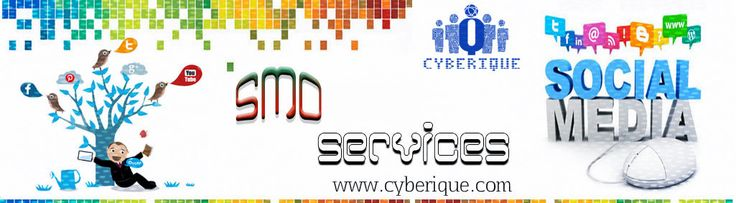 #SMO #Services - Looking for the best SMO Services. If so, then this is the time to look for the best SMO Company in India  that can guarantee success on major social sites. See more. http://www.cyberique.com/smo-service.php