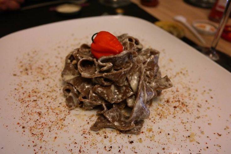 Pasta al Cacao e Peperoncino