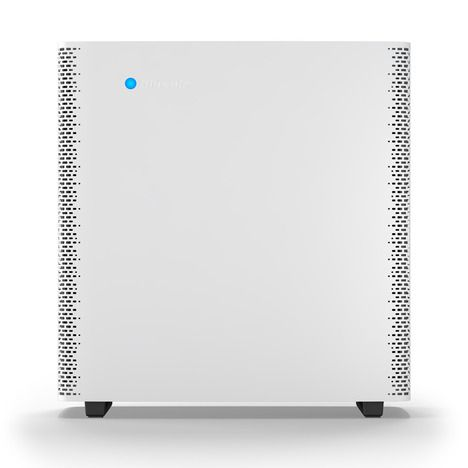 Steel and glass air purifier, beautifully design by renowned Swedish architects Claesson Koivisto Rune.