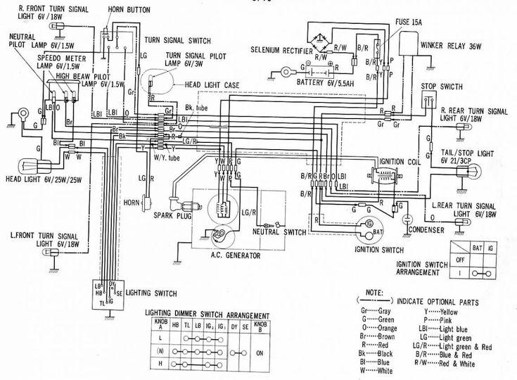 12 good wiring diagram of motorcycle honda xrm 110 technique   s     bacamajalah com  12
