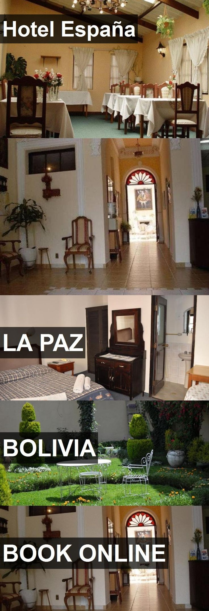 Hotel España in La Paz, Bolivia. For more information, photos, reviews and best prices please follow the link. #Bolivia #LaPaz #travel #vacation #hotel