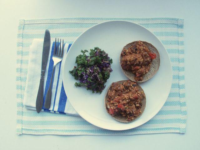 tempeh portobello sloppy joes | Vegan | Pinterest