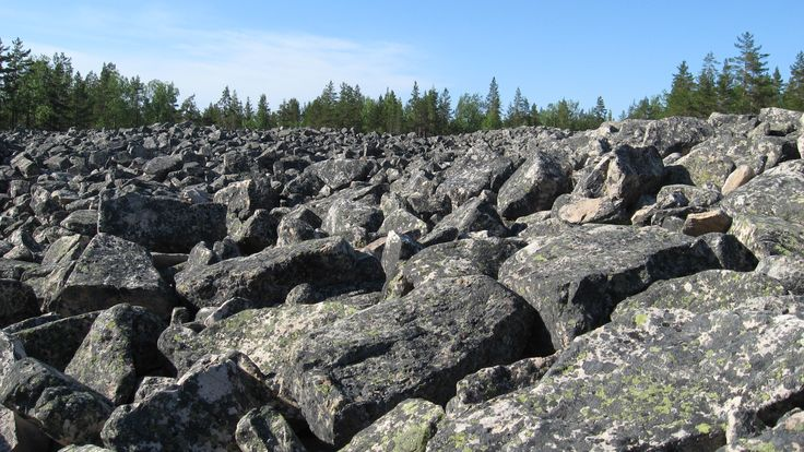 Lauhanvuori National Park. The hillside forests contain geological traces showing how the scenery has changed since the Ice Age, including extensive boulder fields and banks formed along ancient shorelines. The park's ski-trails are well maintained during the winter. Finland