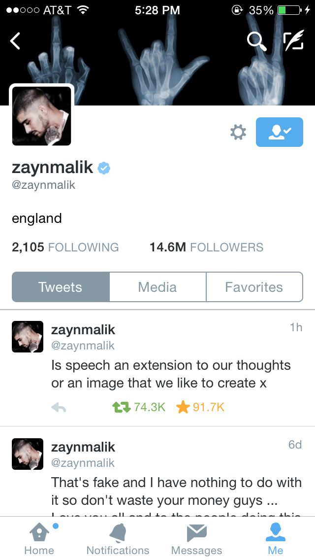 ZAYN JUST TOOK THE 1D OFF HIS NAME AND THE onedirectionmusic.com LINK OUT OF HIS BIO I HATE LIFE