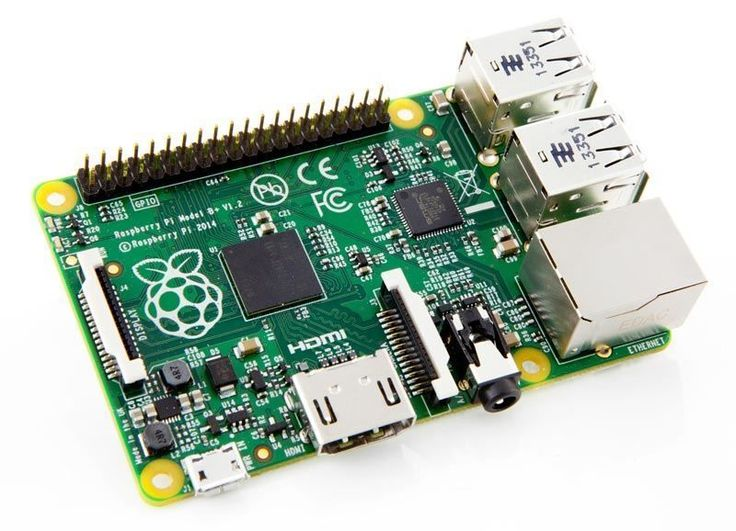 Raspberry Pi Model B+ (B Plus) 512MB #ThePiHut