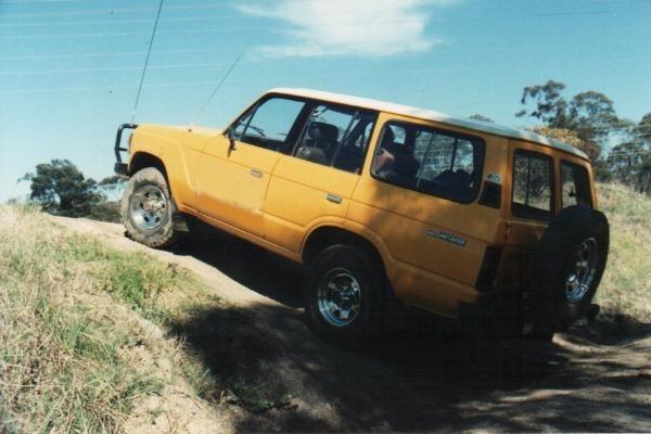 1985 HJ 60 diesel Toyota Landcruiser.