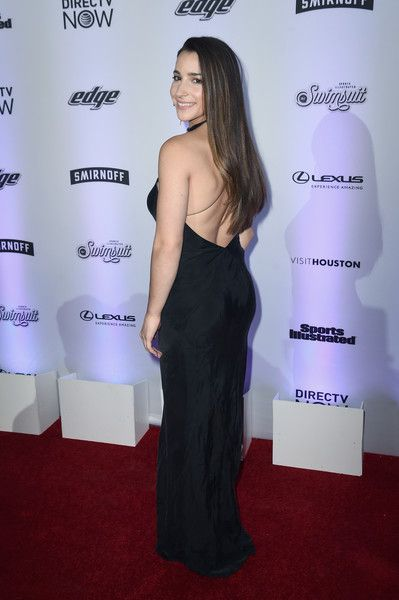 Aly Raisman attends Sports Illustrated Swimsuit 2017 NYC launch event at Center415 Event Space on February 16, 2017 in New York City.