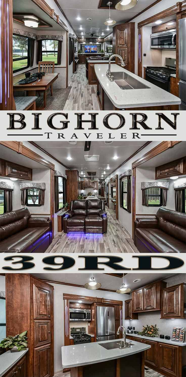 Bighorn Traveler 39rd Rear Living Full Time 5th Wheel By Heartland