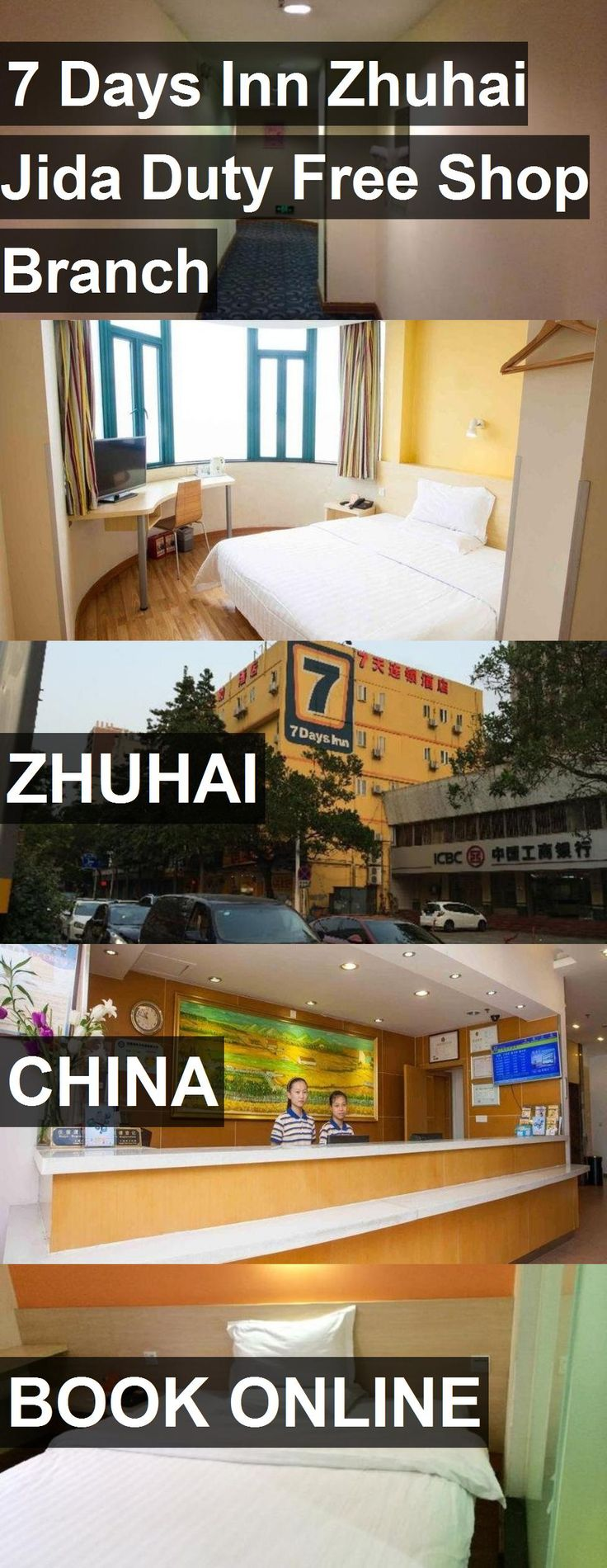 Hotel 7 Days Inn Zhuhai Jida Duty Free Shop Branch in Zhuhai, China. For more information, photos, reviews and best prices please follow the link. #China #Zhuhai #hotel #travel #vacation