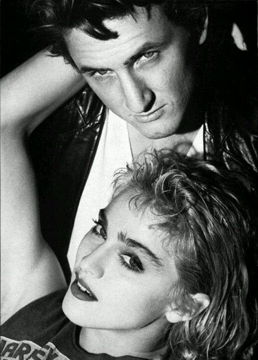 Madonna & Sean Penn by Herb Ritts (1985)