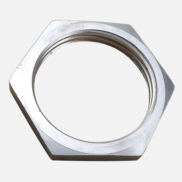 Stainless Steel 304 1 INCH NPT/BSP Locknut untuk Elemen Pemanas