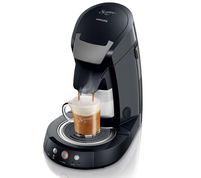 SENSEO® Cappuccino Select HD7853 - koffiezetapparaat - Deep Black, Purple - senseo.nl