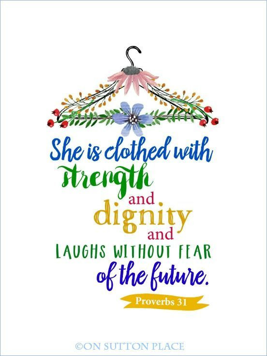 Proverbs 31 Free Original Printables | Beloved bible verse available as a free printable. Use for DIY Wall Art, cards, crafts, screensavers and more.