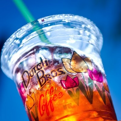 Raspberry Peach Infused Red Bull from Dutch Bros. Pure amazing.