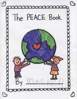 Based on Todd Parr's book, make a Peace book with your students.  What does it look like, feel like, smell like (use the 5 senses)
