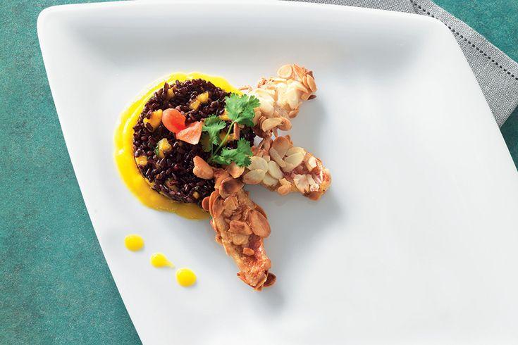 Ricetta Tortino di riso Venere e triglie croccanti - La Cucina Italiana: ricette, news, chef, storie in cucina