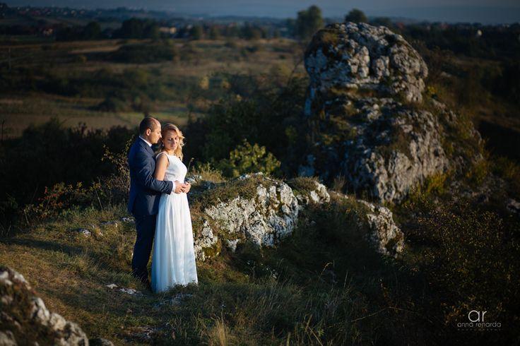 Bridal photo session. Plener ślubny Jura Krakowsko Częstochowska. Fotografia ślubna. http://annarenarda.com/