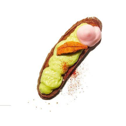 Avocado foam