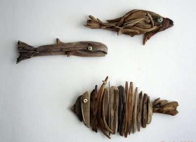 'Yalos Alanya,' the driftwood art created by Filiz Ateş and Christiane Alaettinoğlu using specimens found on their native shores of Alanya, Turkey.