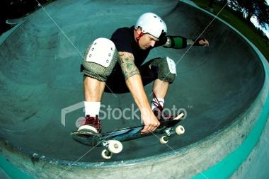 Skateboard Frontside Air Royalty Free Stock Photo