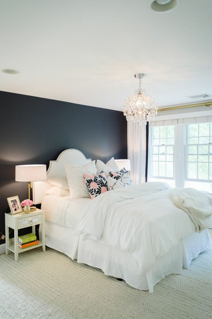 top 25 best navy bedroom walls ideas on pinterest navy. Black Bedroom Furniture Sets. Home Design Ideas