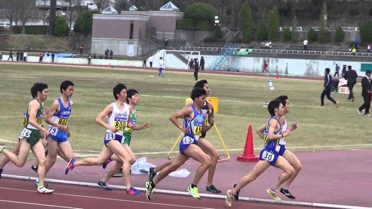 関東学連春季オープン競技会 男子 1500m タイムレース 6組 2016年3月28日