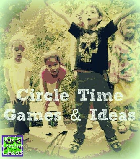 Circle Time Games, Activities, and Ideas for Preschoolers. #circletime #preschool #summercamp