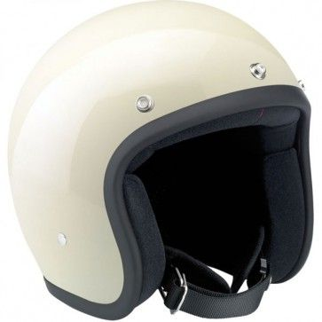 Biltwell Novelty Gloss Vintage White