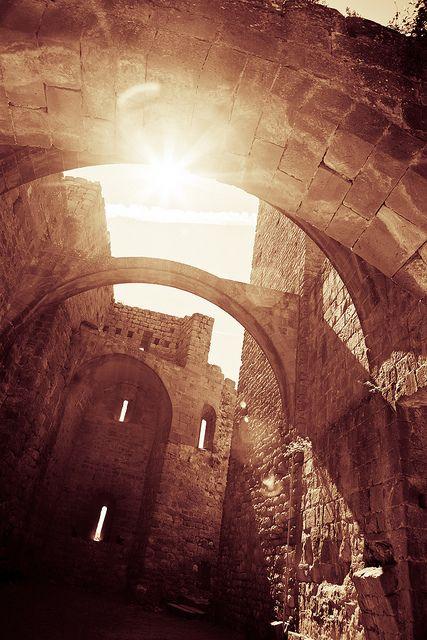 Medieval castle hall