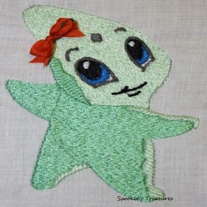 STE009_06  http://www.spookiestreasures.com/products/baby-sea-stars-4x4-5