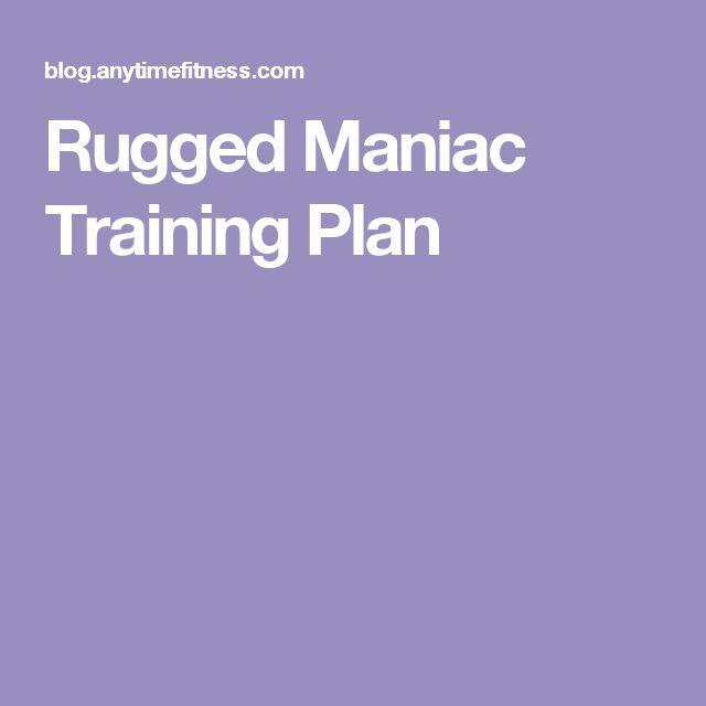 Rugged Maniac Training Plan