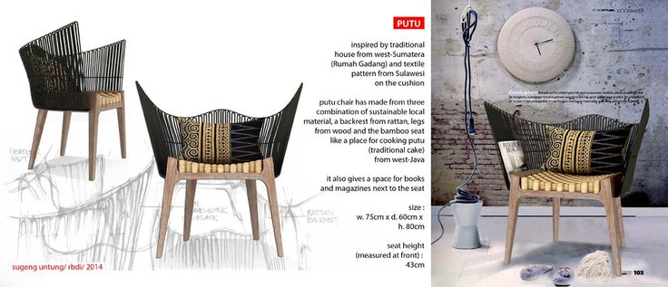 Putu Chair RBDI 2014 Rattan Furniture