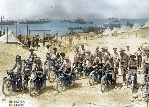 Royal engineers signal corps , Dardanelles, Battle of Galipoli, 1915