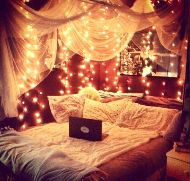 Bedroom Ideas Teenage Girl Pinterest Bedroomteenage Bedroomgirl Patio Cute Romantic Boho Design Fairy Lights Girly