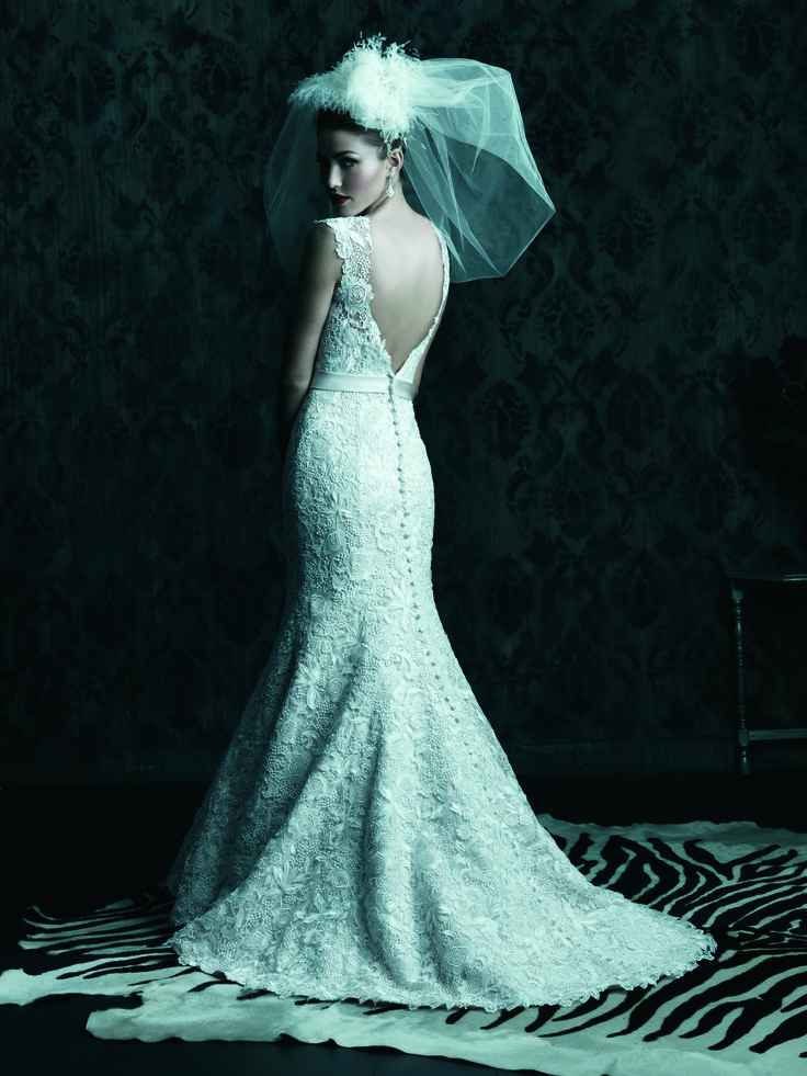 Wedding Dress I Wedding Gown I Veil I Allure Couture (C226) I Available at Brides of Melbourne