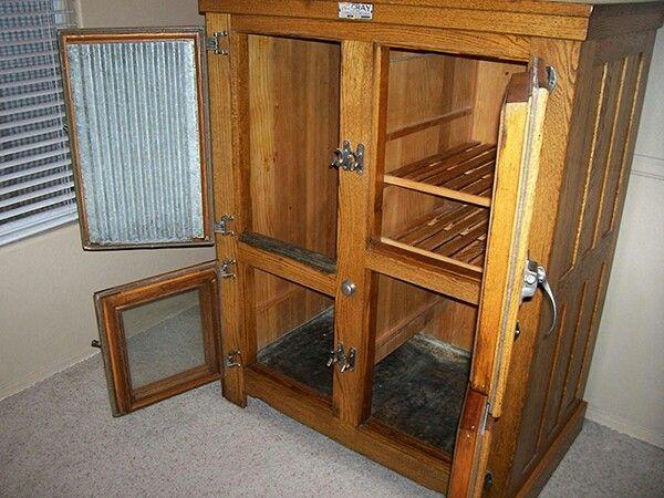 Vintage Refurbished 4 Door Mccray Refrigerator Vintage
