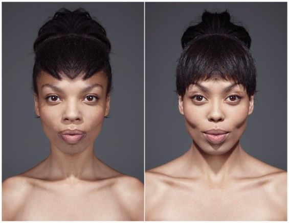 They say that facial Symmetry equals beauty. Well Photographer Julian Wolkenstein has put this theory to the test with both her  Symmeytrical Portraits and his Echoism website where you too can see what you would look like with a perfectly symmetrical face.