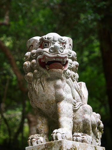貴船神社 奥宮 狛犬
