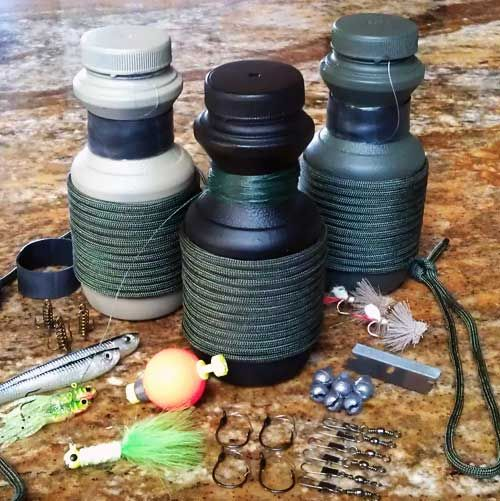 Fishing Grenade - An awesome pocket fishing system for kids and adults. Build this micro fishing system for about $2.
