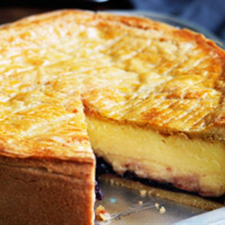 Try this Basque Custard Cake recipe by Chef Serge Dansereau.